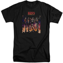 Load image into Gallery viewer, Kiss Destroyer Cover Big & Tall Band T-Shirt
