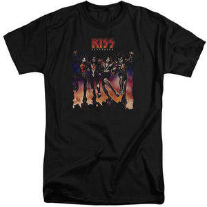 Kiss Color Destroyer Big & Tall Band T-Shirt