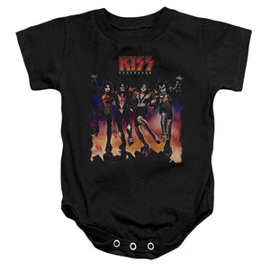 Kiss Color Destroyer Infant Band Snapsuit
