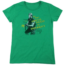 Load image into Gallery viewer, Delta Force 2 Special Diplomacy Women's Movie T-Shirt