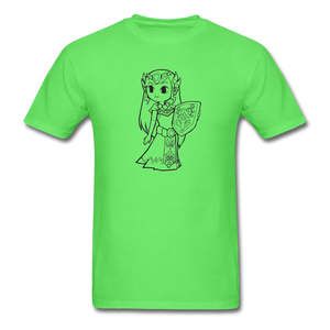 new shirt zelda - kiwi
