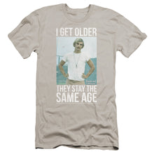 Load image into Gallery viewer, Dazed And Confused I Get Older Premium Canvas Jersey Movie T-Shirt