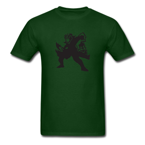 new shirt lol 3l12 - forest green
