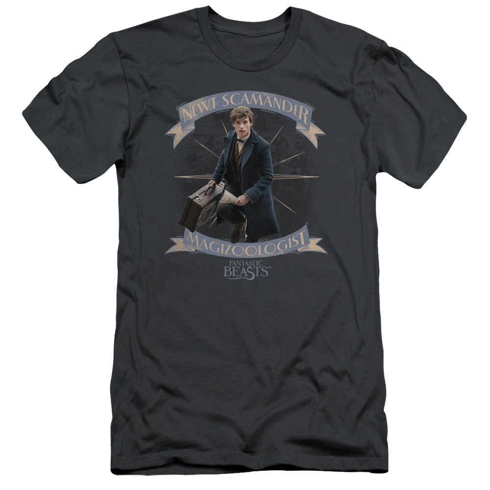 Fantastic Beasts Newt Scamander Slim Fit Movie T-Shirt