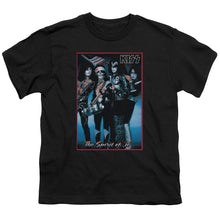 Load image into Gallery viewer, Kiss Spirit Of 76 Teen Band T-Shirt