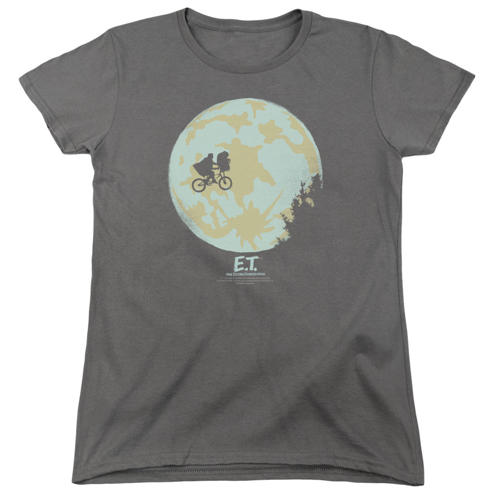 Et In The Moon Women's Movie T-Shirt