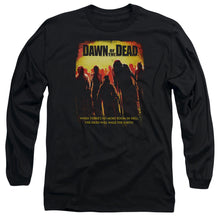 Load image into Gallery viewer, Dawn Of The Dead Title Long Sleeve Movie T-Shirt