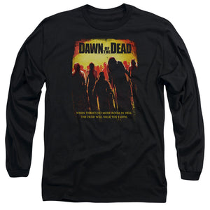 Dawn Of The Dead Title Long Sleeve Movie T-Shirt