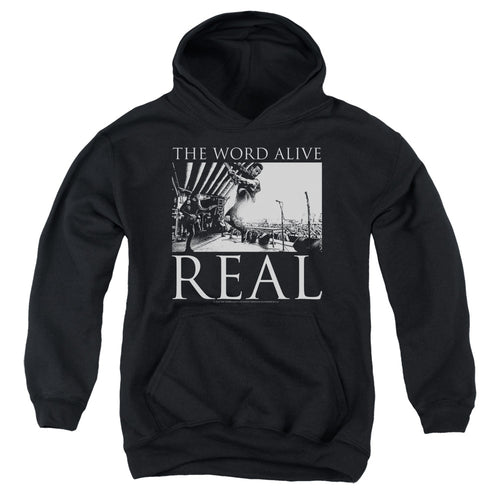 The Word Alive Live Shot Teen Pullover Hoodie Band Sweatshirt