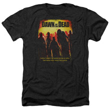 Load image into Gallery viewer, Dawn Of The Dead Title Heather Movie T-Shirt