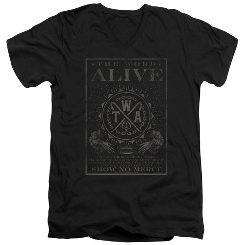 The Word Alive Show No Mercy V Neck Band T-Shirt