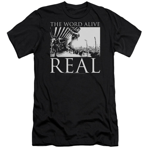 The Word Alive Live Shot     Premium Canvas  Band T-Shirt