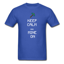Load image into Gallery viewer, new shirt mine - royal blue