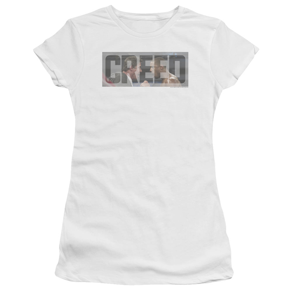 Creed Pep Talk Junior Girls Sheer Movie T-Shirt