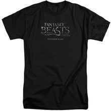 Load image into Gallery viewer, Fantastic Beasts Logo Big & Tall Movie T-Shirt