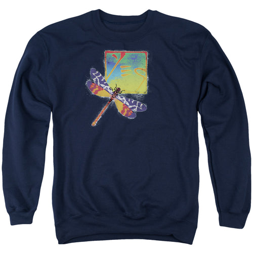 Yes Dragonfly Crewneck Band Sweatshirt