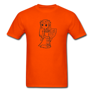 new shirt zelda - orange