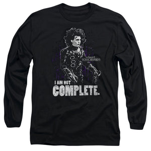 Edward Scissorhands Not Complete Long Sleeve Movie T-Shirt