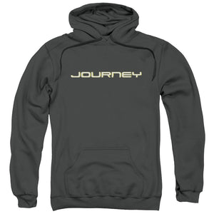 Journey Logo Pullover Hoodie Band Sweatshirt
