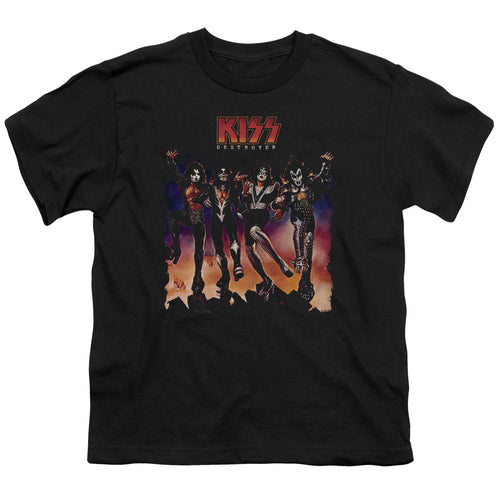 Kiss Destroyer Cover Teen Band T-Shirt