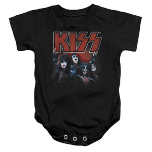 Kiss Painted Legends Infant Band Snapsuit