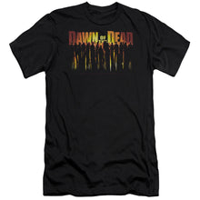 Load image into Gallery viewer, Dawn Of The Dead Walking Dead Premium Canvas Jersey Movie T-Shirt