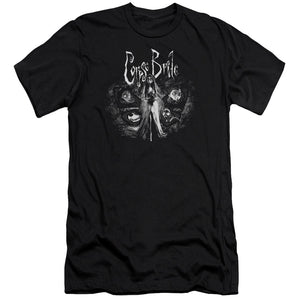 Corpse Bride Bride To Be Slim Fit Movie T-Shirt