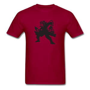 new shirt lol 3l12 - dark red