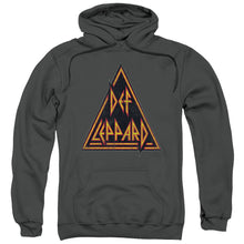 Load image into Gallery viewer, Def Leppard Distressed Logo Pullover Hoodie Band Sweatshirt