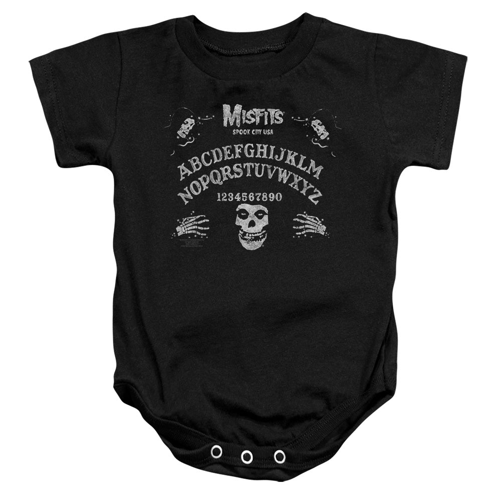Misfits Ouija Board Infant Band Snapsuit