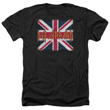 Load image into Gallery viewer, Def Leppard Union Jack Heather Band T-Shirt