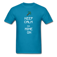 Load image into Gallery viewer, new shirt mine - turquoise