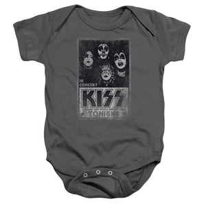 Kiss Concert Poster Infant Band Snapsuit