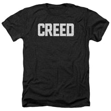 Load image into Gallery viewer, Creed Cracked Logo Heather Movie T-Shirt