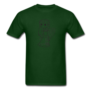 new shirt zelda - forest green