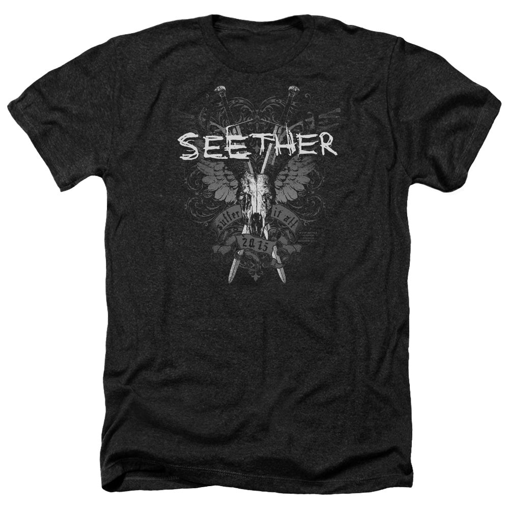 Seether Suffer Heather Band T-Shirt