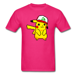 new shirt poke - fuchsia