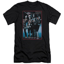 Load image into Gallery viewer, Kiss Spirit Of 76     Premium Canvas  Band T-Shirt