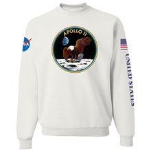 Load image into Gallery viewer, NASA Apollo 11 Custom Crewneck Sweater - Front