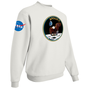 NASA Apollo 11 Custom Crewneck Sweater - Right Side