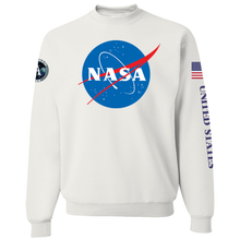 Load image into Gallery viewer, NASA Insignia Apollo Program Crewneck Sweatshirt - Front
