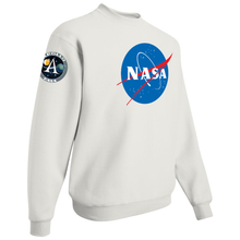 Load image into Gallery viewer, NASA Insignia Apollo Program Crewneck Sweatshirt - Right Side