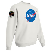Load image into Gallery viewer, NASA Insignia Apollo Patch Custom Crewneck Sweater - Right Side