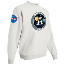 Load image into Gallery viewer, NASA Apollo Project Insignia Custom Crewneck Sweater - Right Side