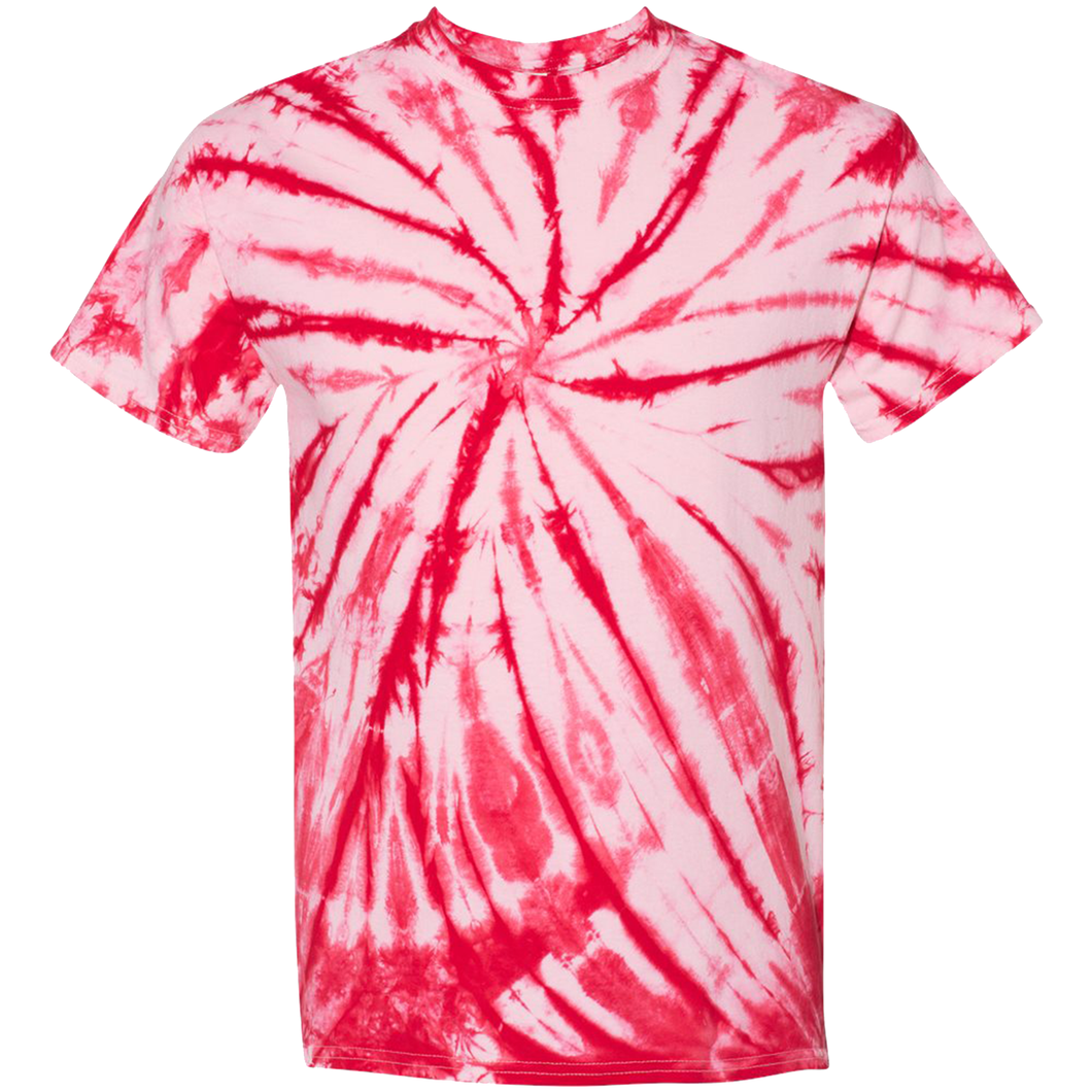 GTS Candy Red Tie Die Liquid Crystals Hand Dyed T-Shirt