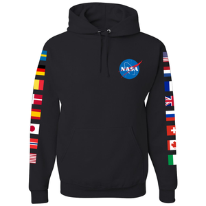 NASA International Space Station (ISS) Black - Front