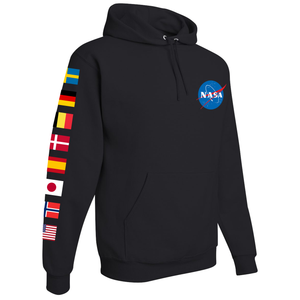 NASA International Space Station (ISS) Black - Right Sleeve