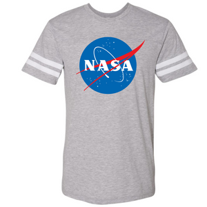 NASA Vintage Grey LAT Football Jersey