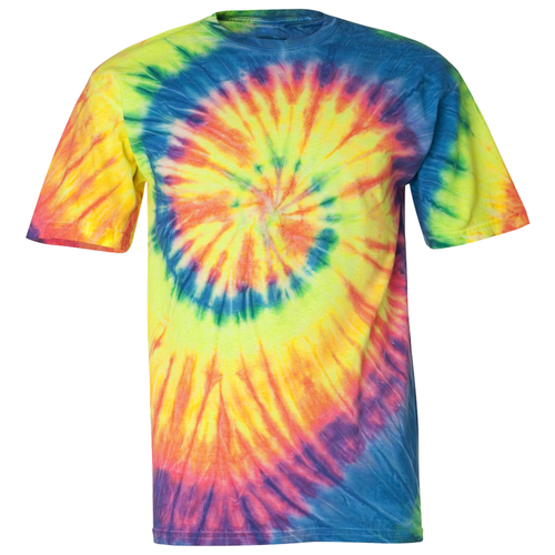 OmniTee Neon Trip Liquid Cyclone Hand-Dyed T-Shirt Front