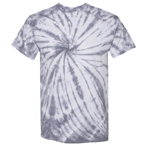 OmniTee Quick Silver Tie Dye Liquid Crystals Hand Dyed T-Shirt Front